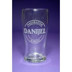 Čaša za pivo, gravirana - ČP1