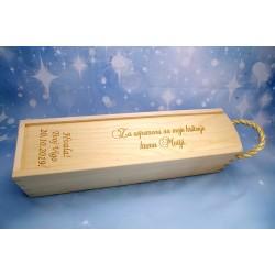Drvena kutija s natpisom- 1BA