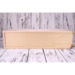 Drvena kutija s natpisom,...